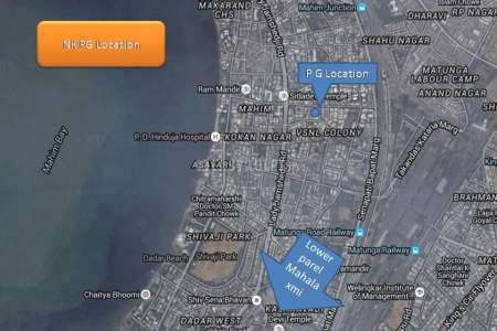 2 BHK Bachelor Accommodation For Rent In Mahim (w)